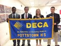 DECA Inducts New Members image