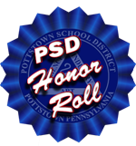 Ribbon for honor roll listings