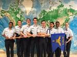 PSD ROTC Golf Flight cadets