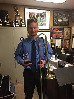 D Hicks Outstanding Jazz Soloist 2018