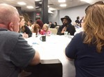 Community round table discussion