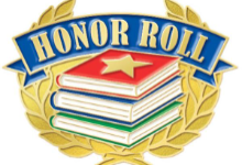 Congratulations on the 2nd Marking Period Honor Roll.