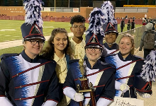 Marching Highlights Return to Competition