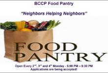 BCCP Food Pantry - Neighbors Helping Neighbors