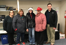 Walmart Employees Support District Students