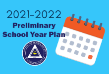 Preliminary School Year Plan for 2021-2022
