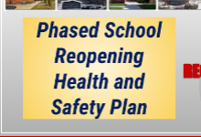 Board Makes Plans For Phased Return To School