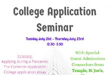 College Admission Seminar