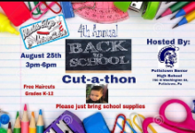 Back to School Cut-a-thon