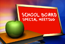 Upcoming Special Board Meeting