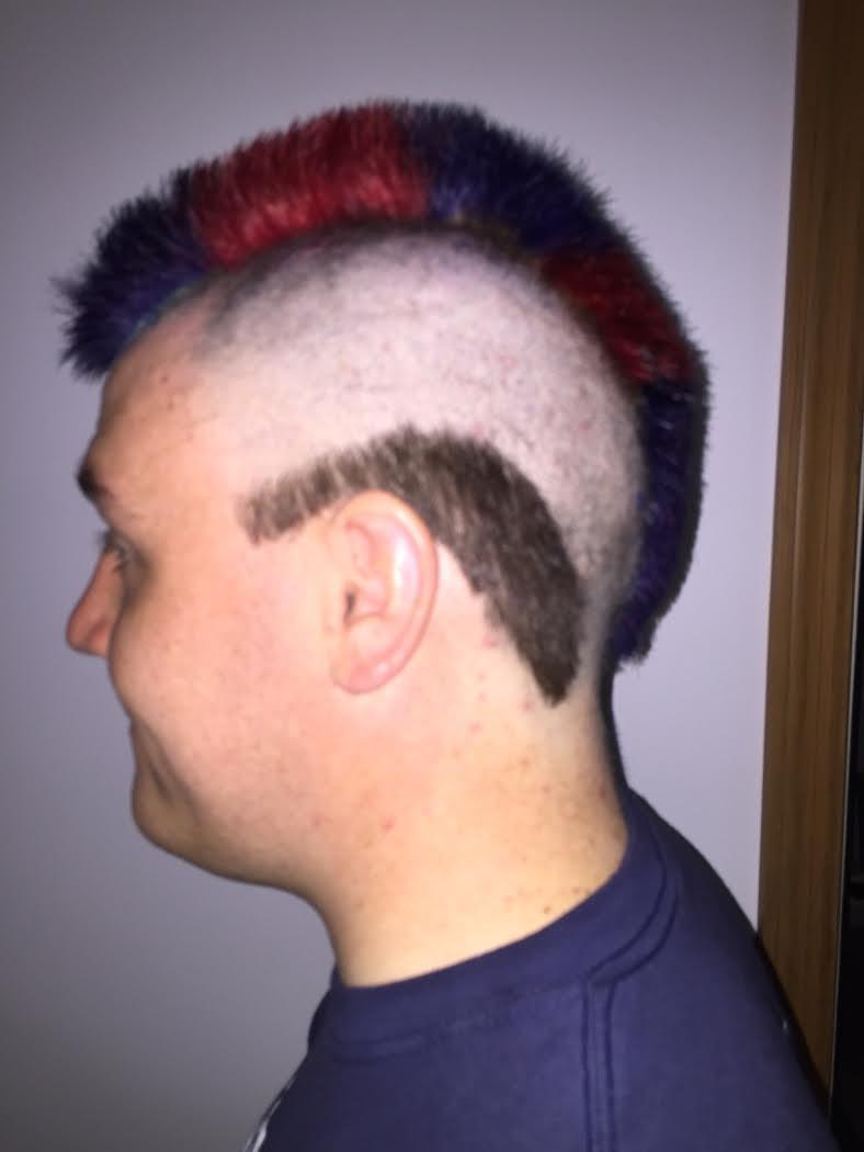 Book Challenge Haircut