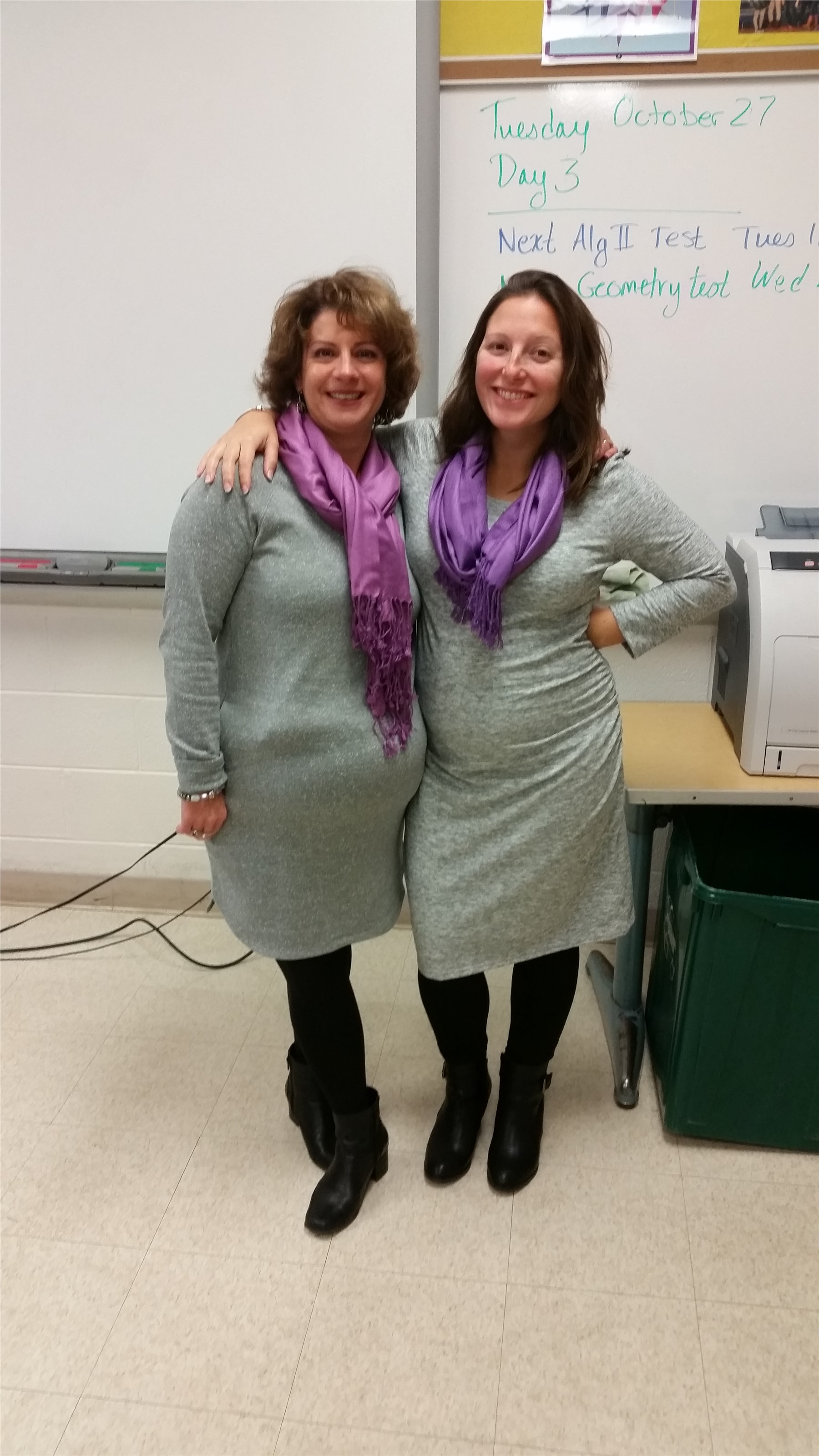Twin Day with Mrs. Minger