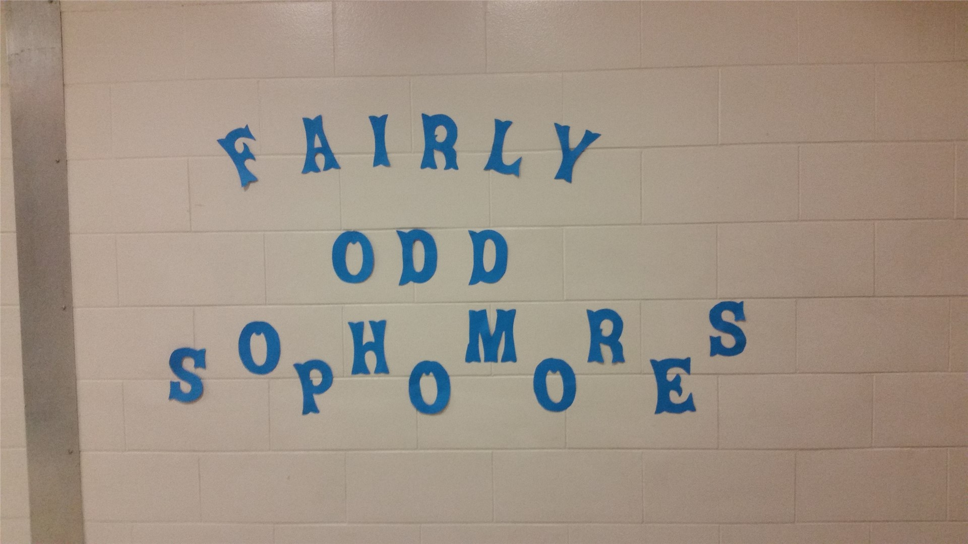 Class of 2018 Homecoming Hallway decorating