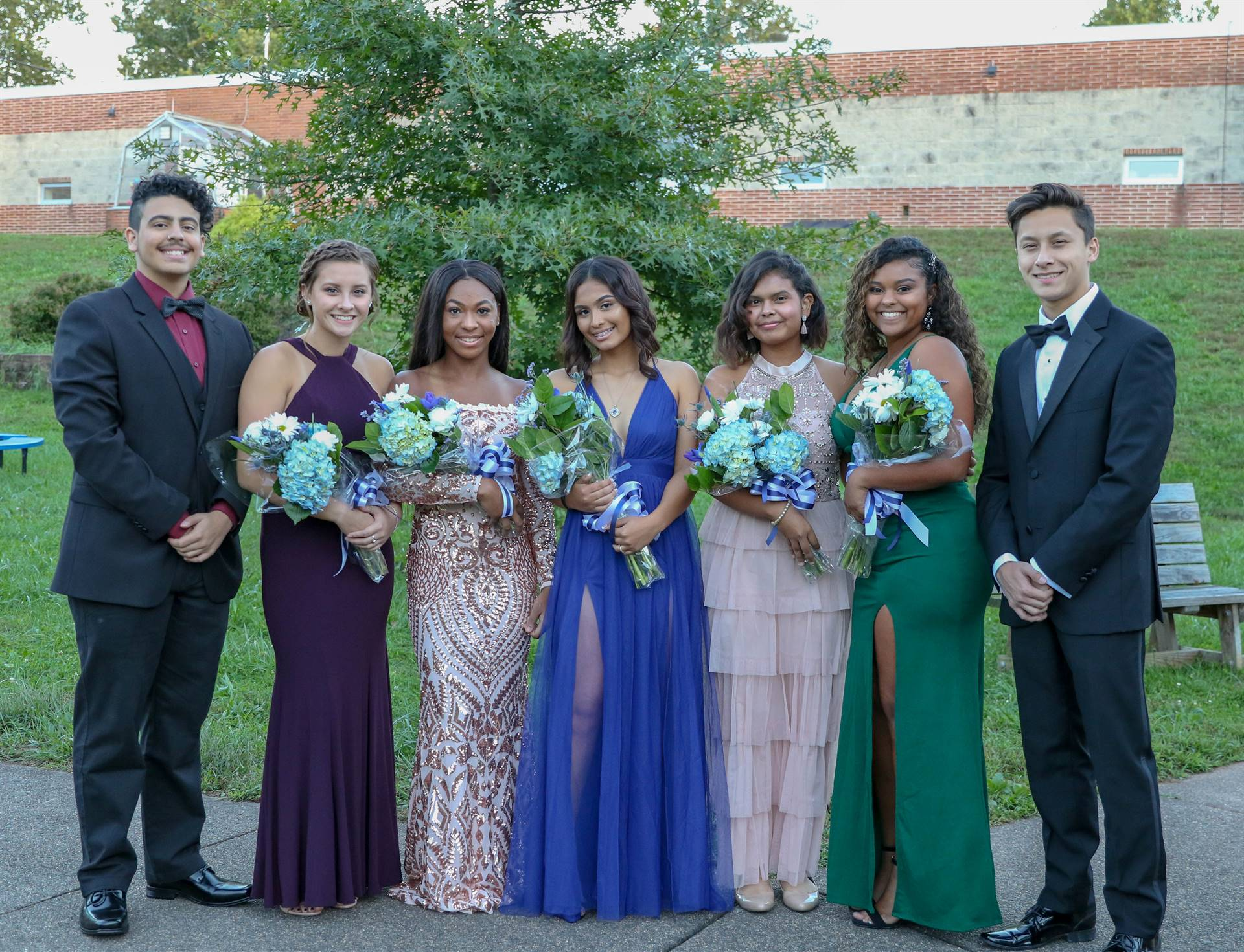 Pottstown HOmecoming 2018 Court
