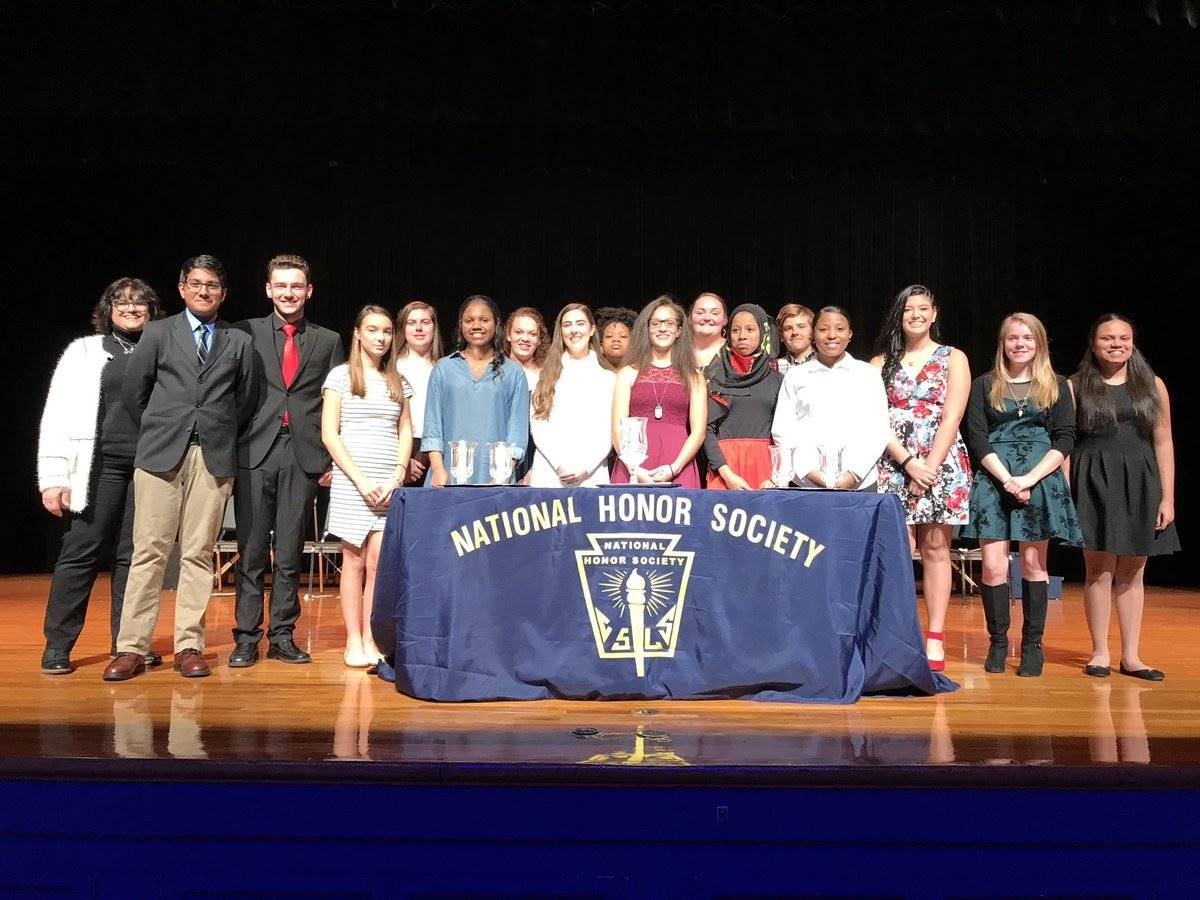Pottstown High School National Honor Society inducted