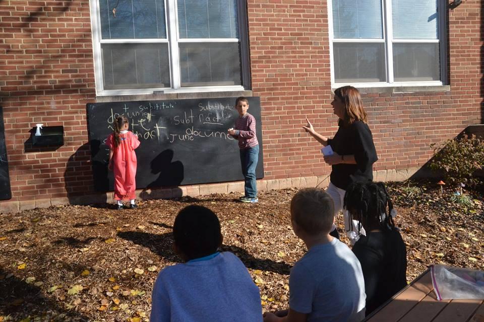Mrs. Swartz Outdoor Class