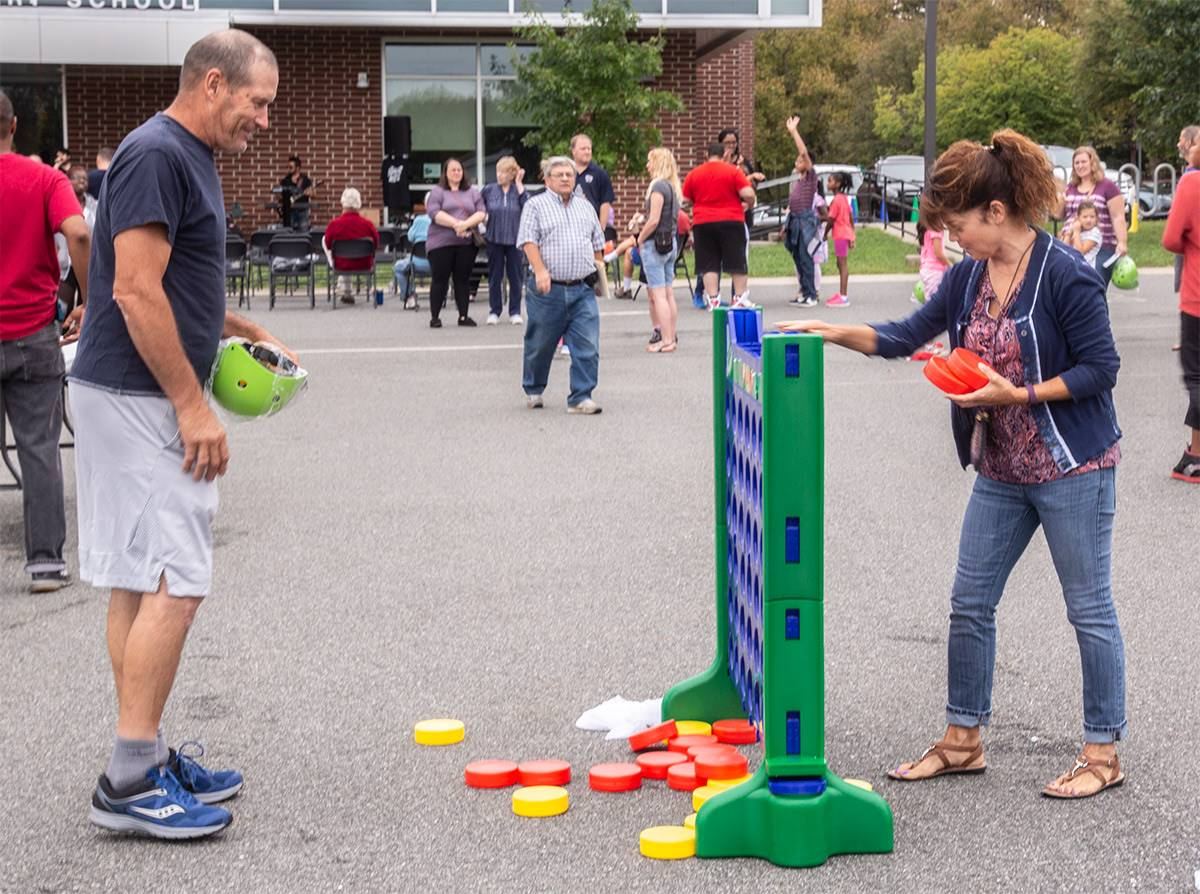 games at rupert's 90th