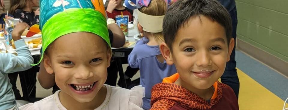 Cute Kids Thanksgiving