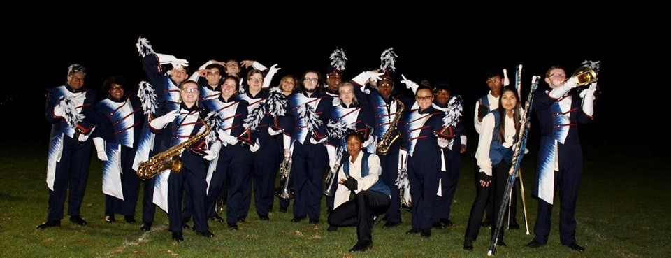 Pottstown Band with new uniforms