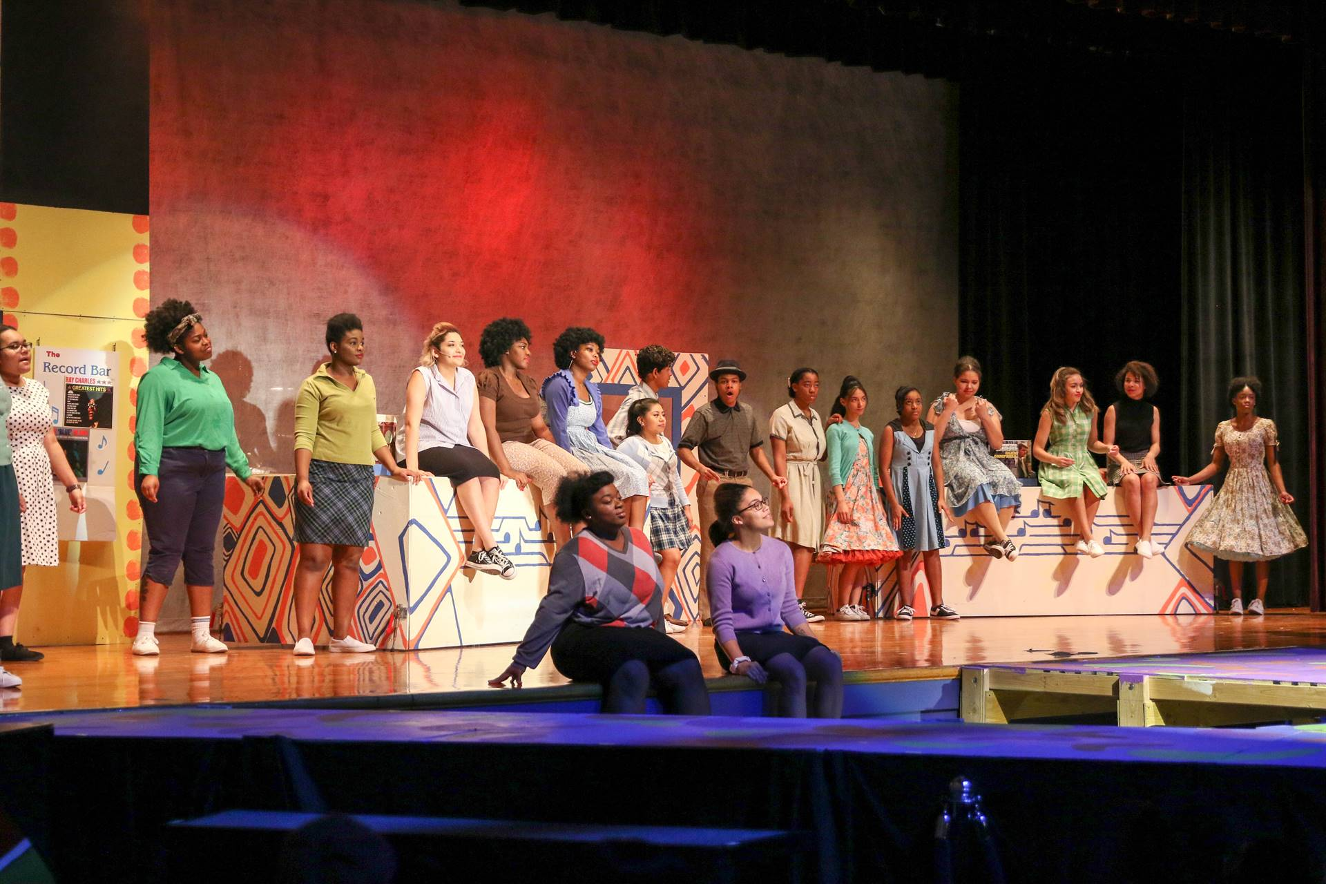 Hair Spray the Musical Cast, performance, and crew