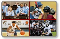 group of pictures showing sports teams