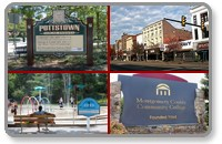 Colage of pottstown sites